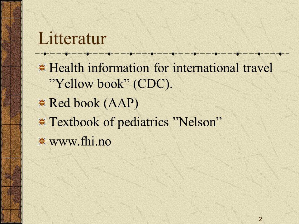 23 WHO - ORS IngrediensMengde NaCl3,5g/l KCl1,5g/l Glucose20g/l (2%) NatriumCitrat2,9g/l