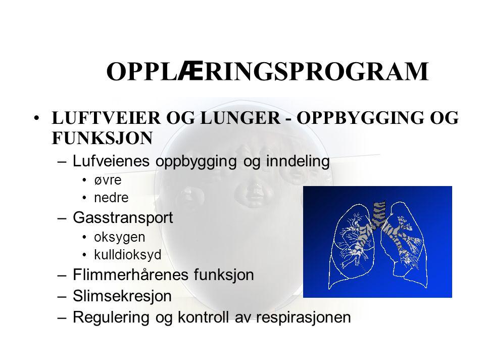 Sekretmobilisering ved hjelp av IMP 2 - tilleggsbehand- ling til lunge- fysio og drenasjeleie TA MED HJEM …..