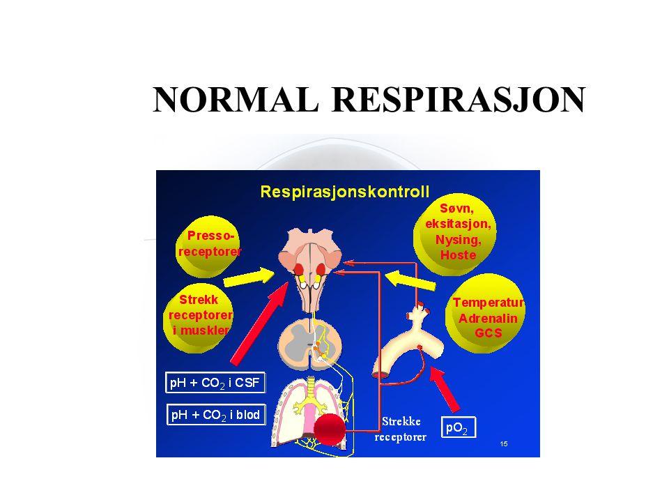 NORMAL RESPIRASJON