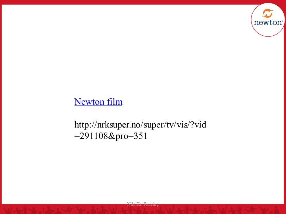 Nils Kr. Rossing Newton film http://nrksuper.no/super/tv/vis/?vid =291108&pro=351