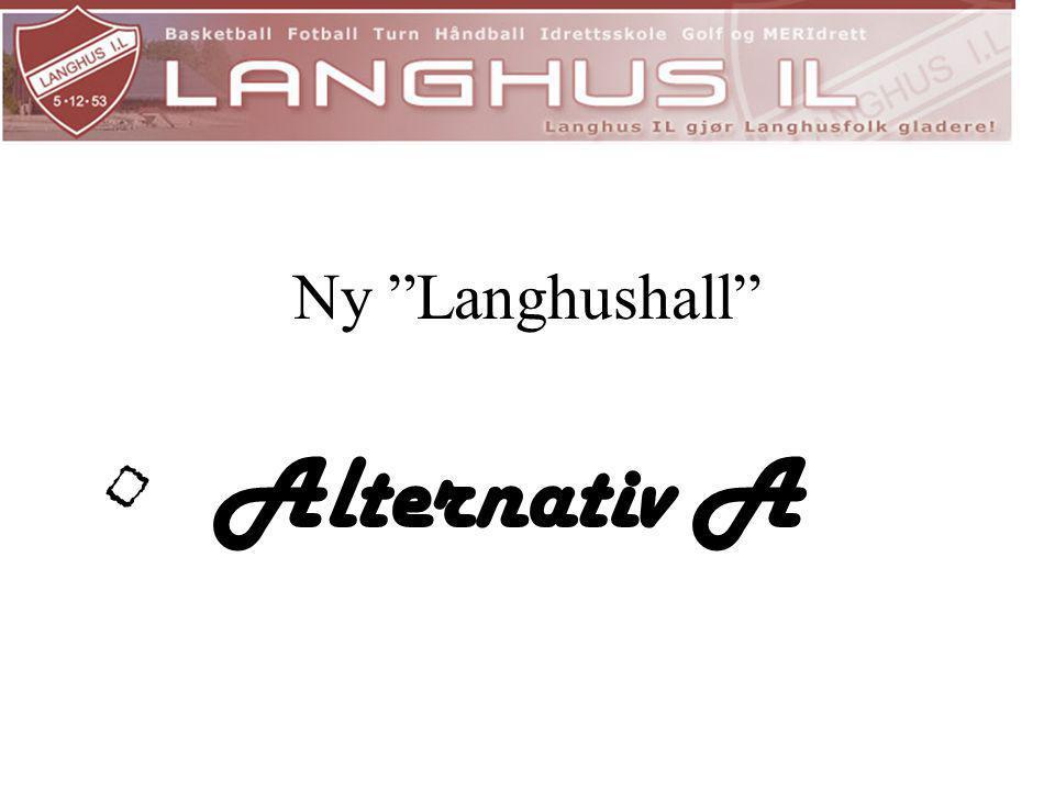 "Ny ""Langhushall"" • Alternativ A"