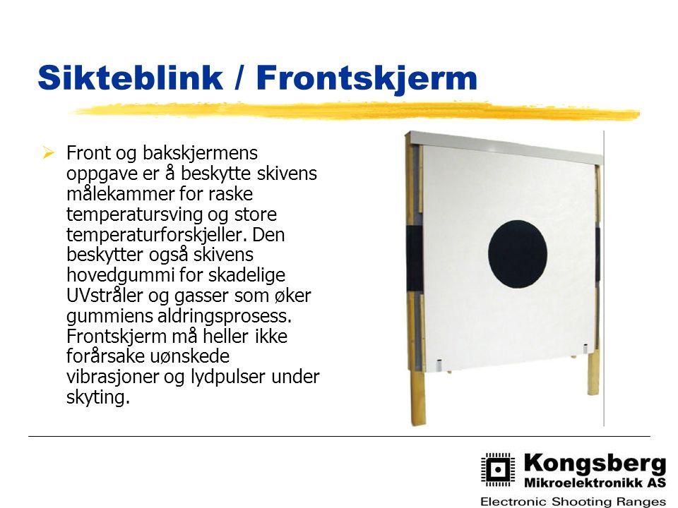 Feilkoder på monitor og sentralenhet  For å angi feil eller OK brukes pipelyder både på skjermen og styringsenheten.