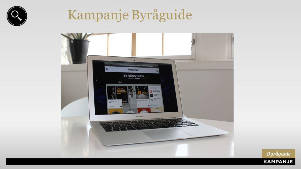 Kampanje Byråguide Byråguide