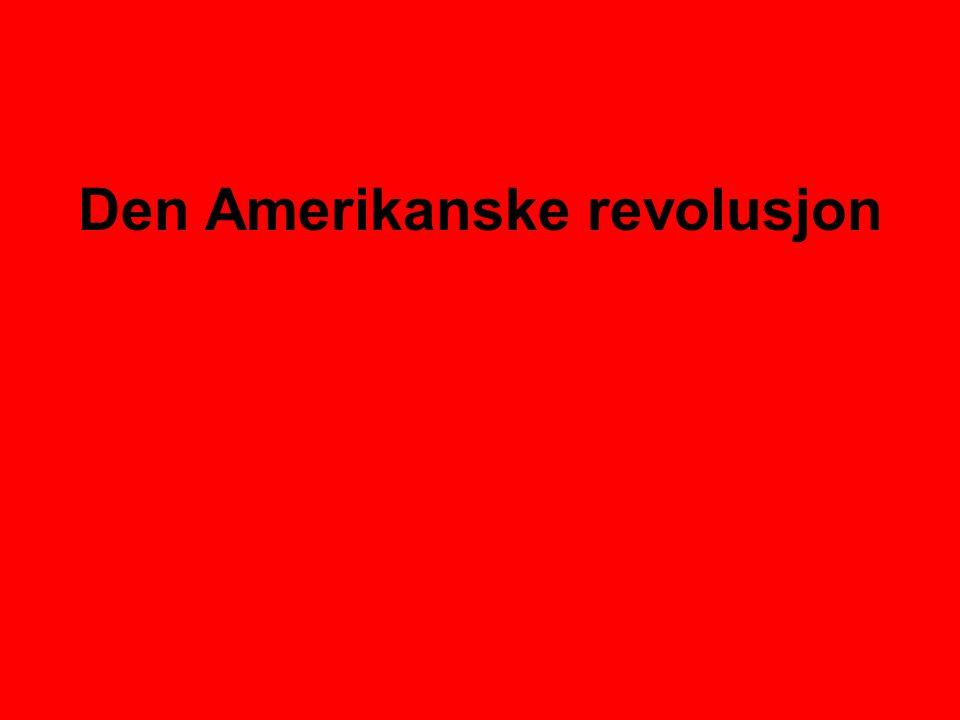 Den Amerikanske revolusjon