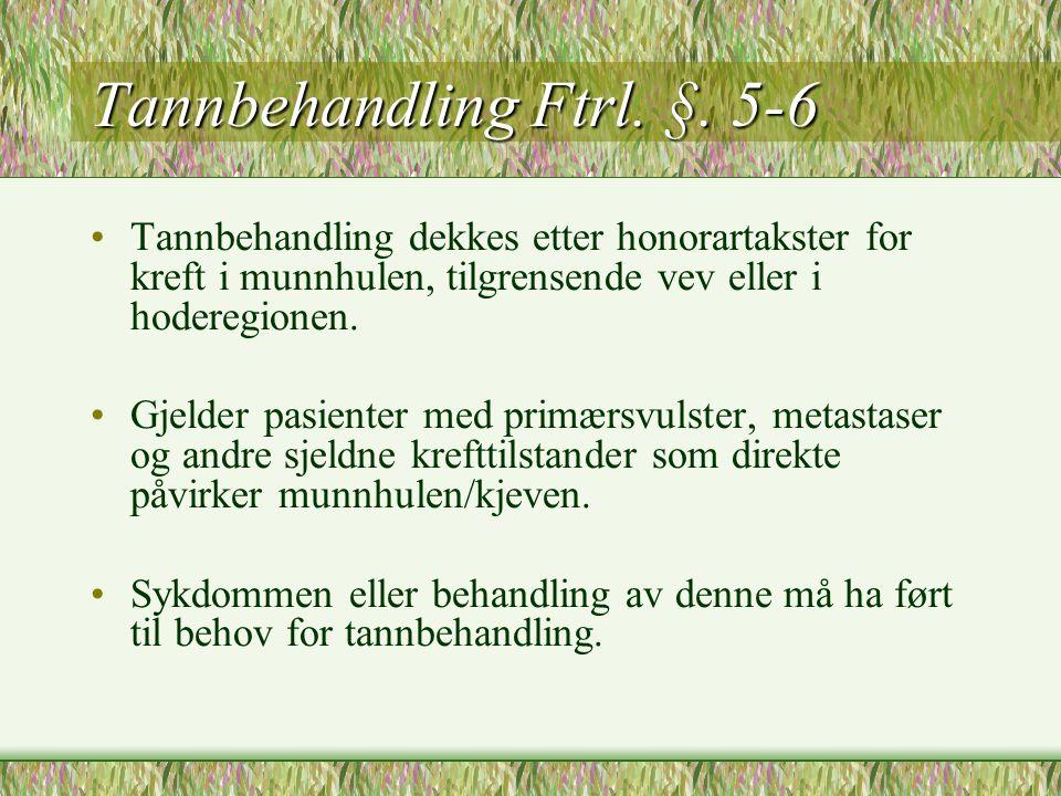 Blå resept Ftrl.§.5.14 •Medisiner for personer med kronisk sykdom.