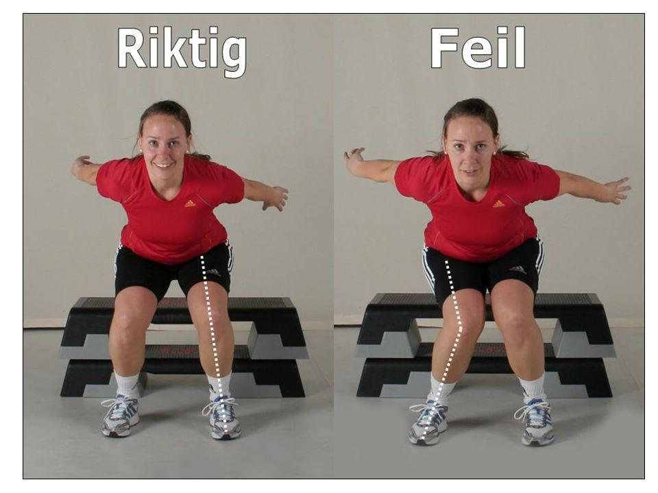 Enkle øvelser for å styrke ankel- og knestabilitet Øvelser med strakt kneledd = ankeløvelser Øvelser med fleksjon i kneet = trener kne og hoftestabilitet Ref.; www.skadefri.no