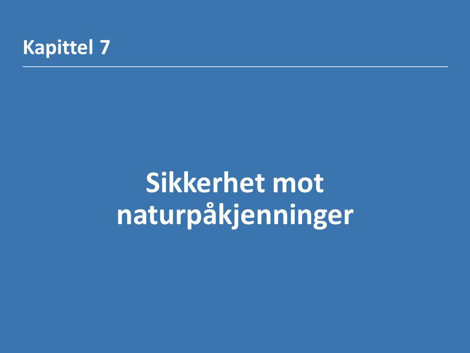 Kapittel 7 Sikkerhet mot naturpåkjenninger