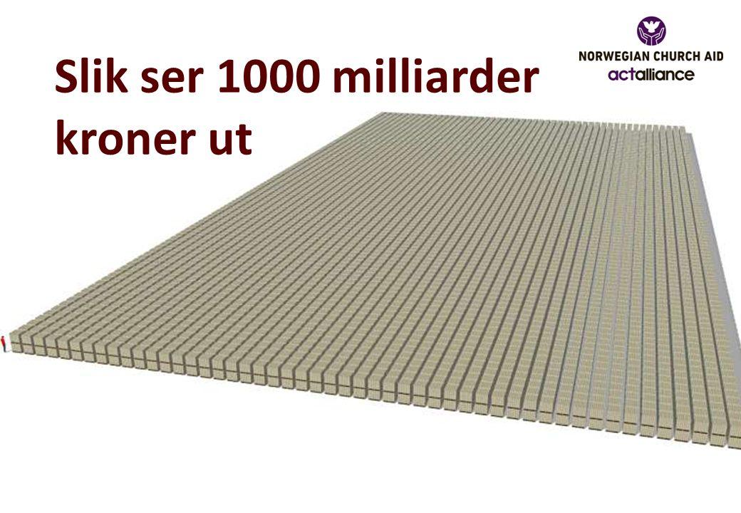 Slik ser 1000 milliarder kroner ut