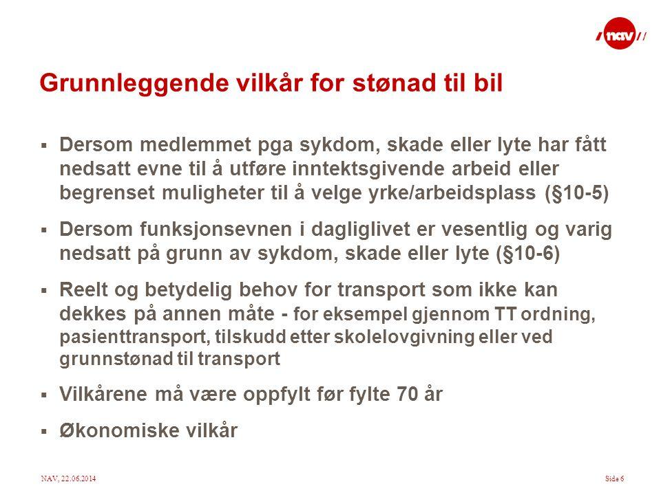 NAV, 22.06.2014Side 17 Gjeldsoppgjør forts.