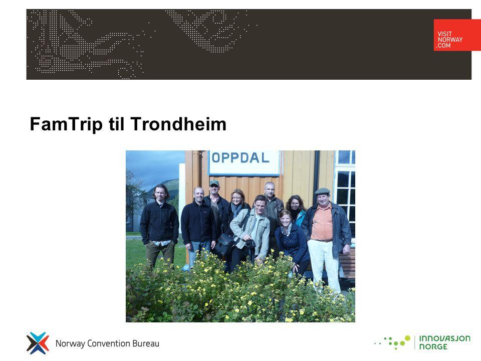 FamTrip til Trondheim