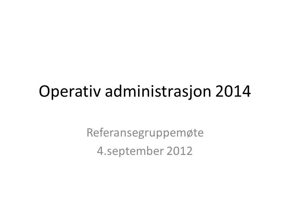 Om OPAD 2014 • Hensikt og mål • Organisering • Medvirkning og brukerfokus • Videre arbeid og hovedmilepæler