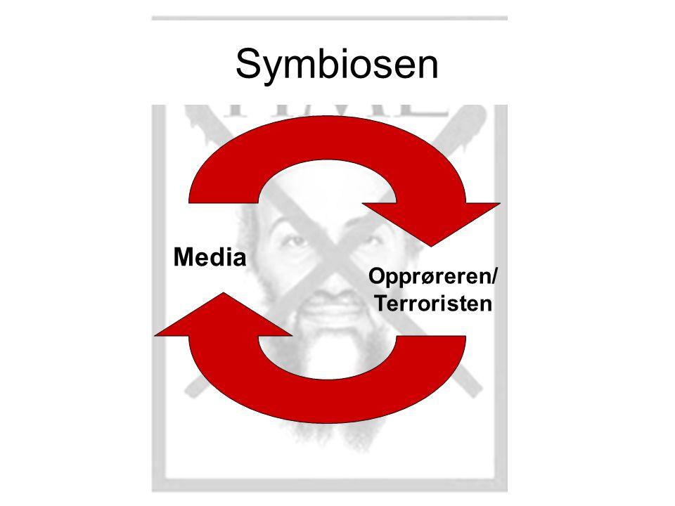 Symbiosen Media Opprøreren/ Terroristen