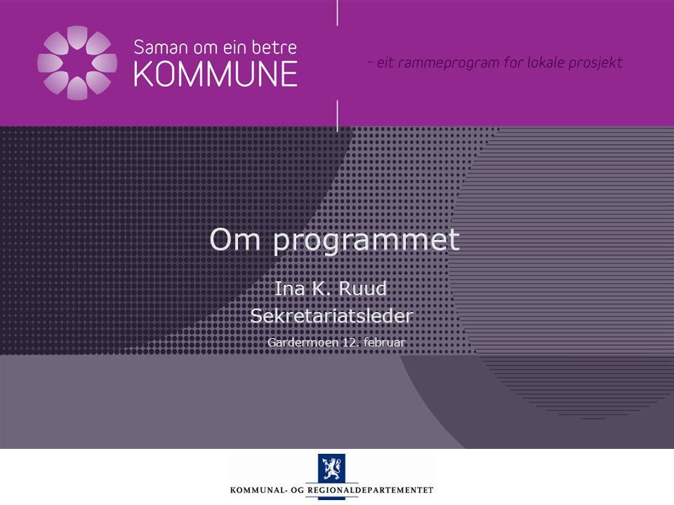 Kommunal- og regionaldepartementet Norsk mal: Startside Tips engelsk mal Klikk på utformingsfanen og velg DEPMAL – engelsk. Eller velg DEPMAL– engelsk