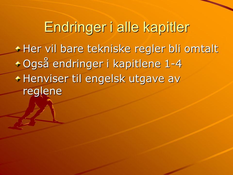 Regel 163 Konkurransen En utøver som under et løp forlater løpebanen skal ikke tillates å gjenoppta løpet.