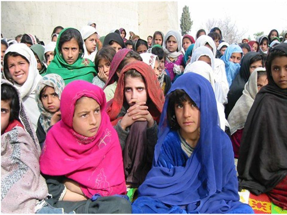 Afghanistan vs.Norge – Utdanning  Ingen tilgang til utdanning, kvinner spesielt.