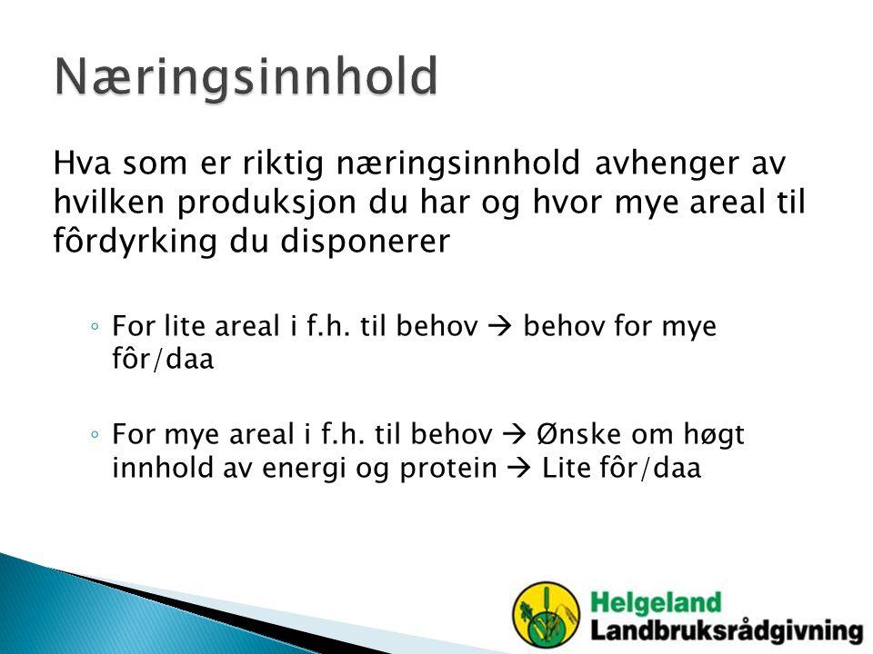 Ønskelige verdier ved 25 % tørrstoff (TS) o Melkesyre (40-100g/kg TS) o Eddiksyre (12-30g/kg TS) o Smørsyre (under 4g/kg TS) o Ammoniakk-N (under 81g/kg N) o Etanol (under 12g/kg TS) o pH (under 4,2)