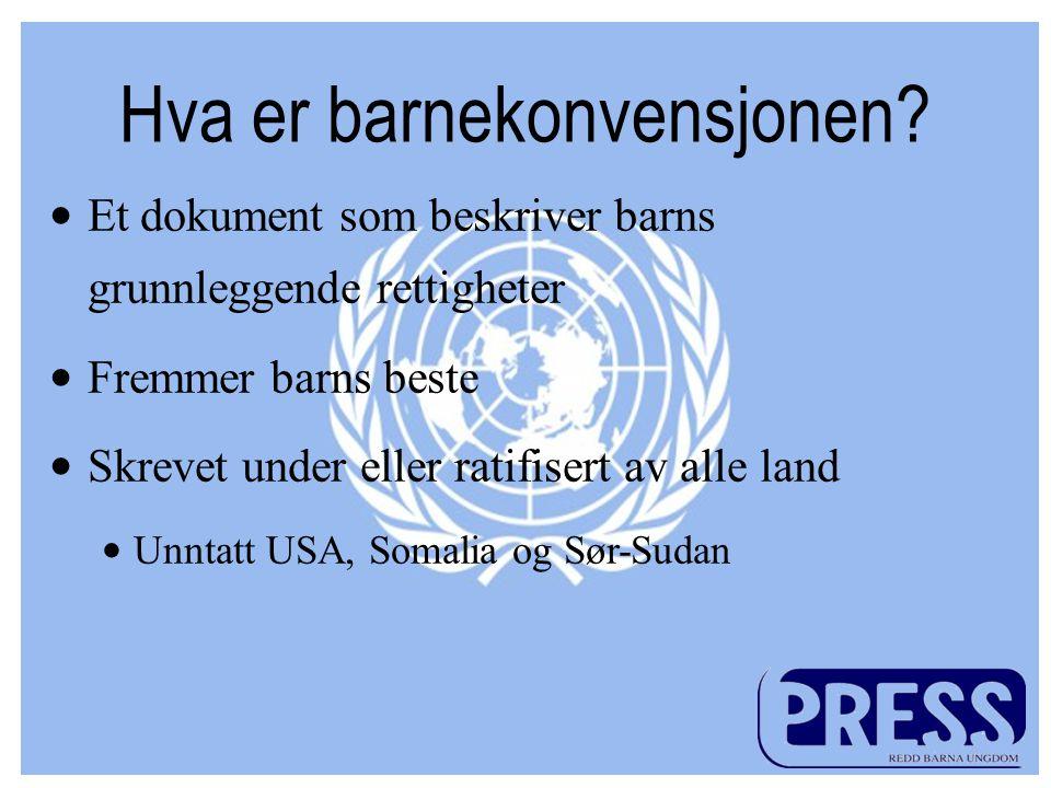 For mer informasjon: www.press.no pressrbu.wordpress.co m