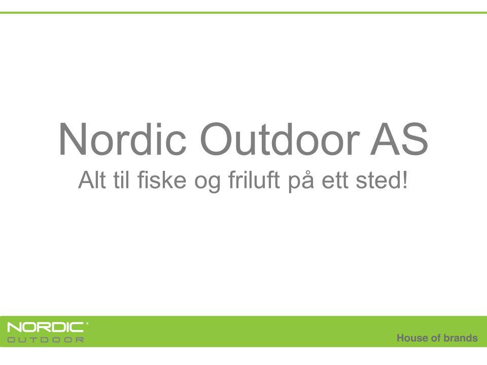 Nordic Outdoor AS Alt til fiske og friluft på ett sted!