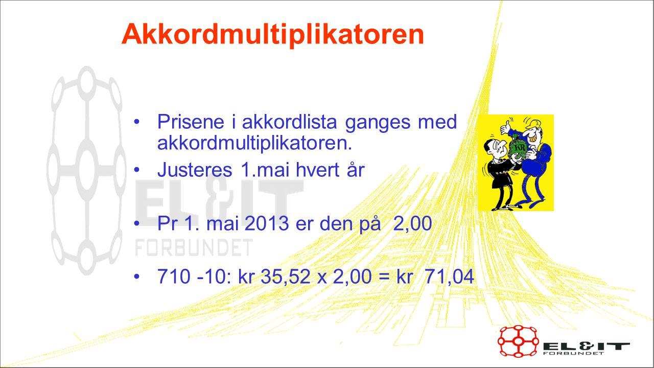•Håkon Storhaug har hatt en akkordjobb Akkorden gikk i kr 321,23 per time Dette var en 3 ukers jobb, og han fikk etterbetalt kr 16.123,62,- 16.123,62 : 1750t = 9,21 pr time et helt år !