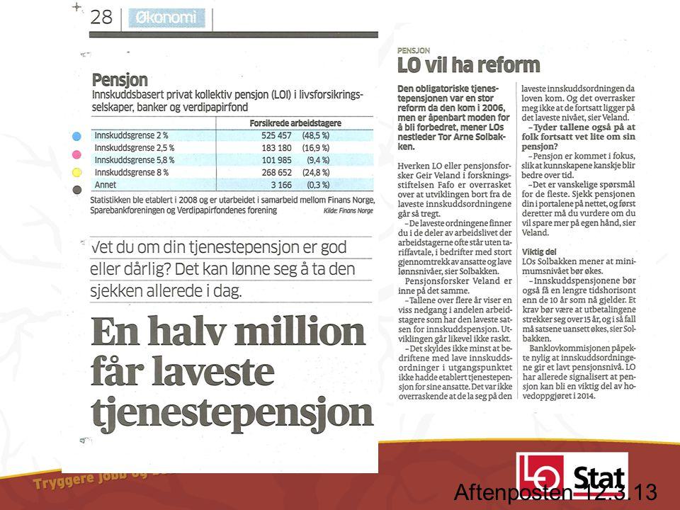 Aftenposten 12.3.13