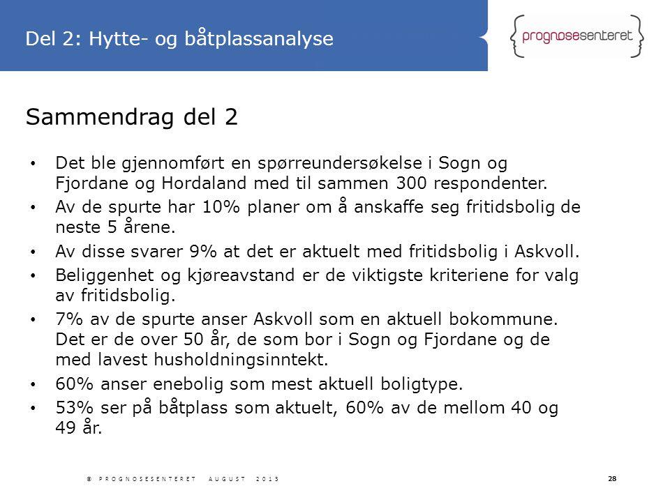 Statliga tillbyggnader Sammendrag del 2 • Det ble gjennomført en spørreundersøkelse i Sogn og Fjordane og Hordaland med til sammen 300 respondenter. •