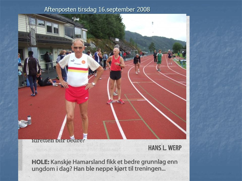 Aftenposten tirsdag 29.juli 2008