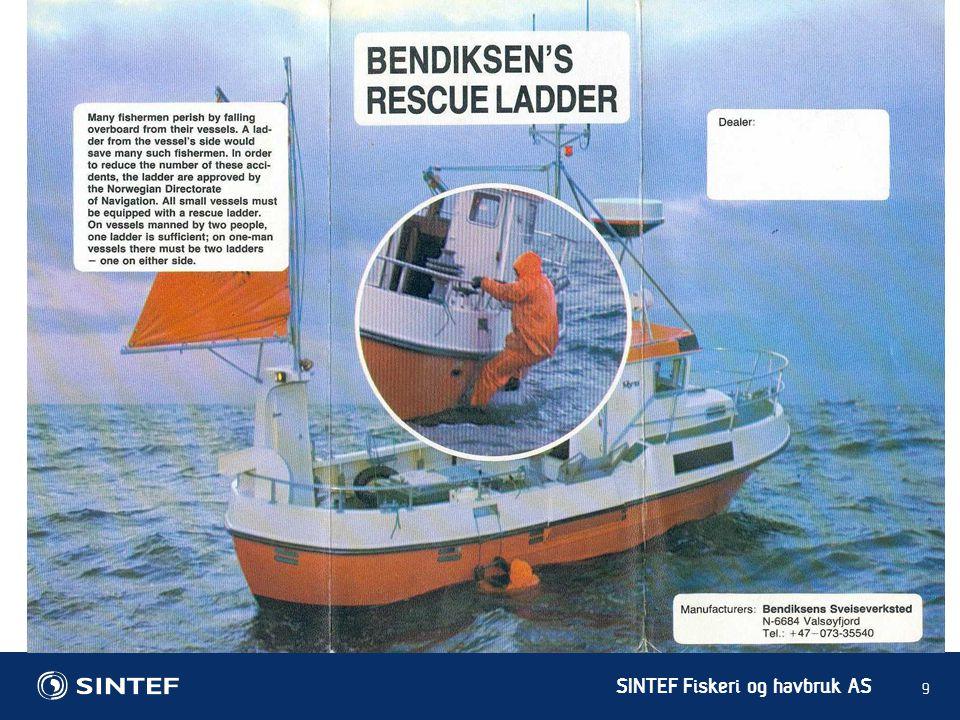 SINTEF Fiskeri og havbruk AS 9