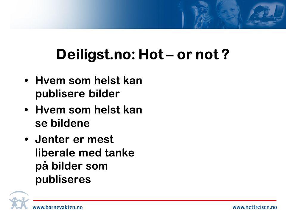 Deiligst.no: Hot – or not .