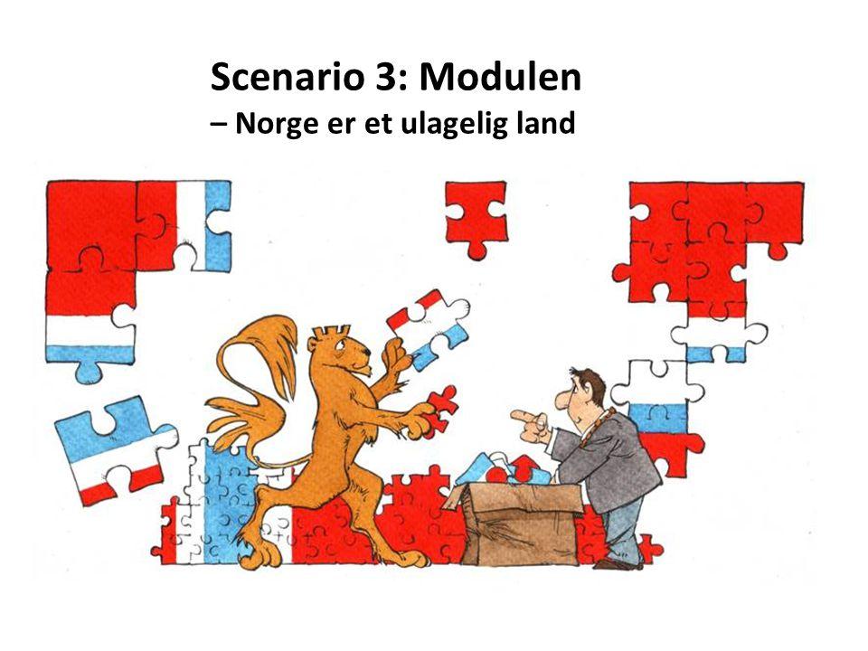 Scenario 3: Modulen – Norge er et ulagelig land