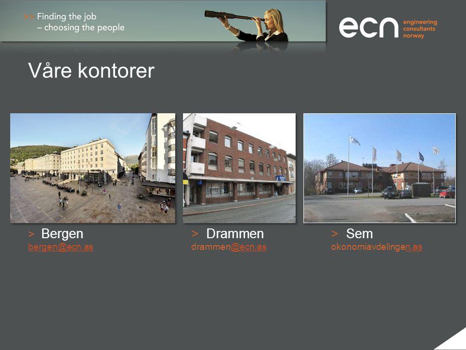 Våre kontorer > Bergen > Drammen> Sem bergen@ecn.as drammen@ecn.asokonomiavdelingen.asbergen@ecn.as@ecn.asn.as