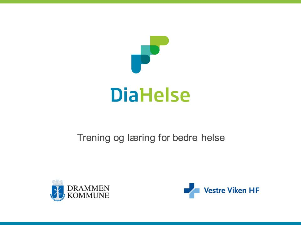 Diabetes Likeverdige helsetjenester Tjenestedesign DiaHelse metoden
