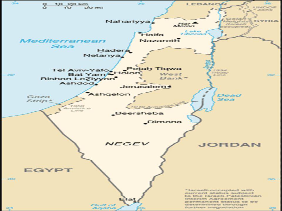 Israelere og Palestinere i konflikt •Hva er bakgrunnen til konflikten.