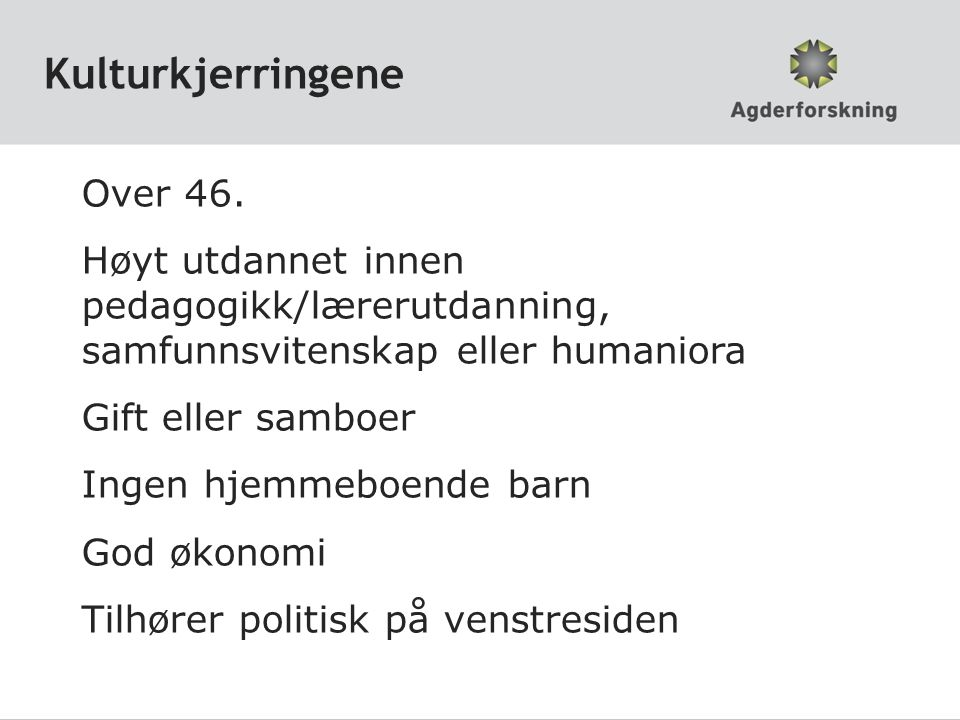 Kulturkjerringene Over 46.