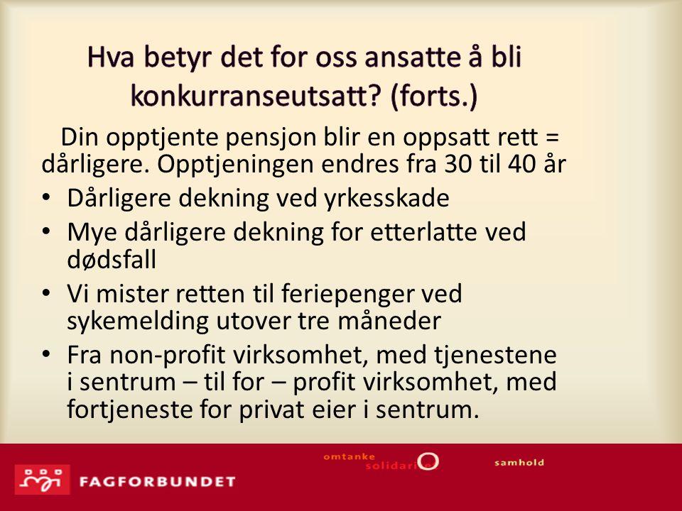 Norlandia Care Group divisjonsdirektør Gunhild Bergsaker: Vi oppfordrer kommunene til å konkurranseutsette drift av eksisterende sykehjem.