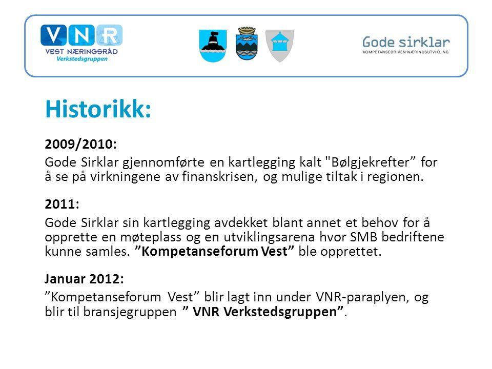 Historikk: 2009/2010: Gode Sirklar gjennomførte en kartlegging kalt