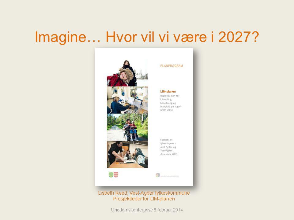 Imagine… Hvor vil vi være i 2027.