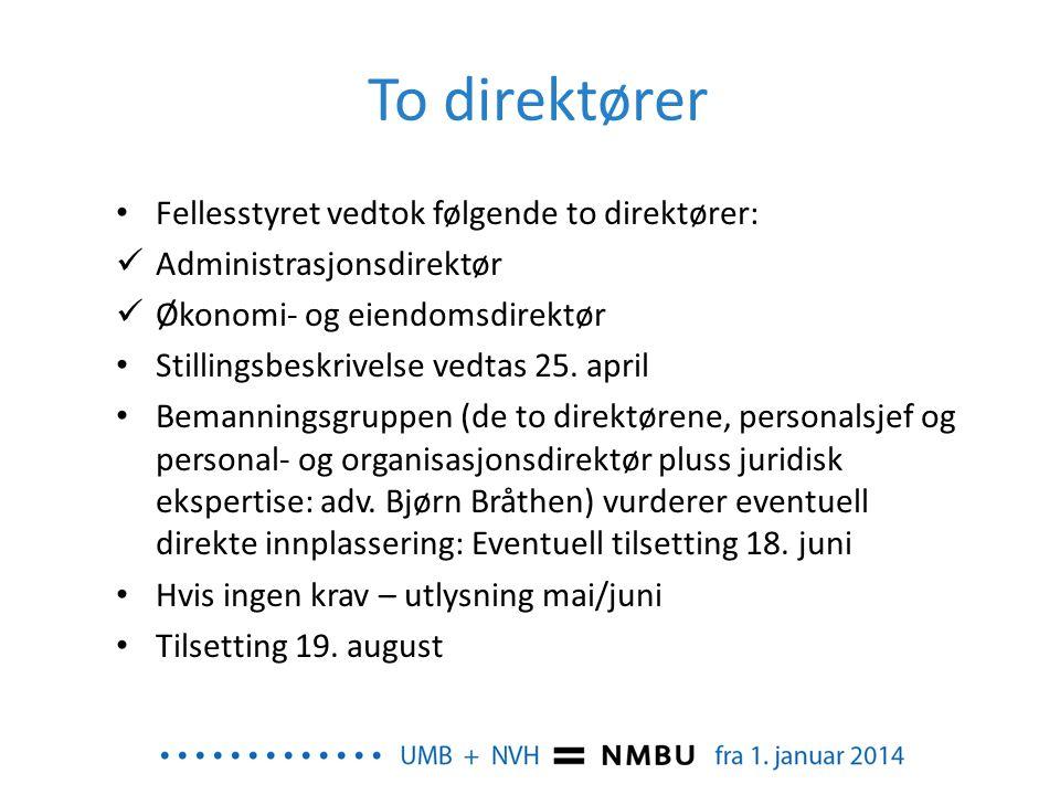 Dekaner – nye stillinger • Dekan er faglig og administrativ leder av fakultetet.