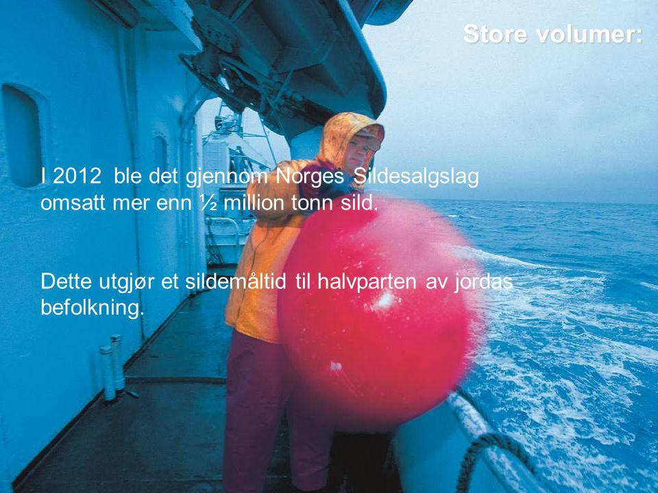 Store miljøgevinster Miljø sertifiserte fiskeslag Nordsjøsild Norsk vårgytende sild Se etter miljømerke i butikken