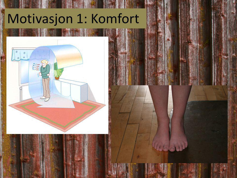 Motivasjon 1: Komfort