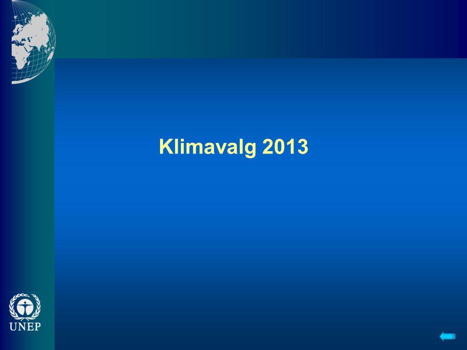 Klimavalg 2013