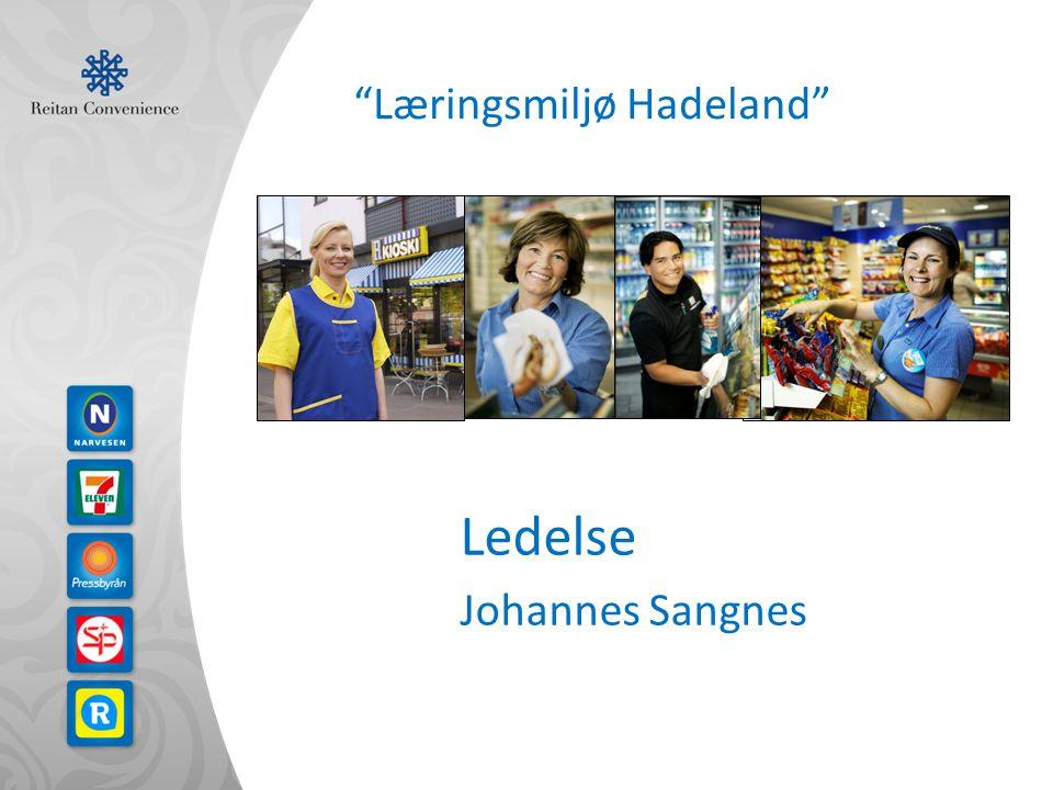 Læringsmiljø Hadeland Ledelse Johannes Sangnes