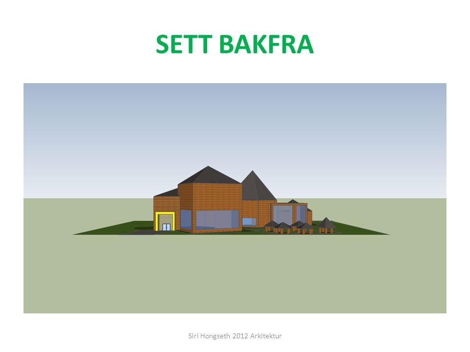 SETT FRA VENSTRE SIDE Siri Hongseth 2012 Arkitektur