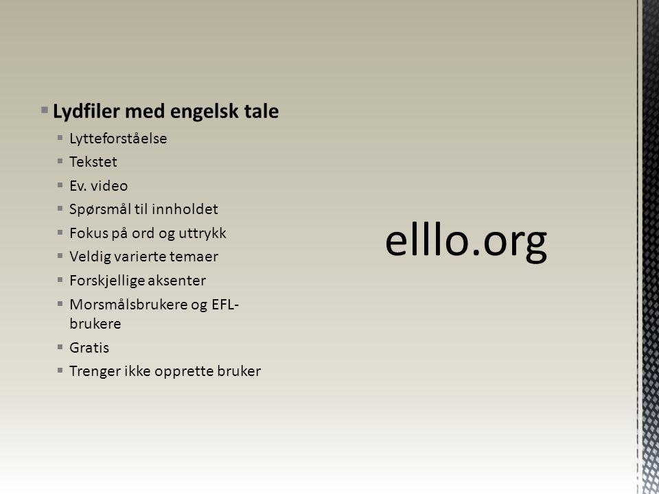 http://www.elllo.org/english/Mixer101/T121-Proverb.htm http://www.elllo.org/english/Mixer076/T097-Disaster.htm