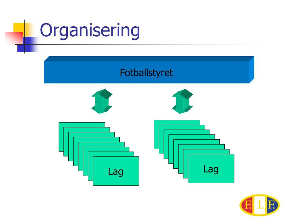Organisering Fotballstyret Lag