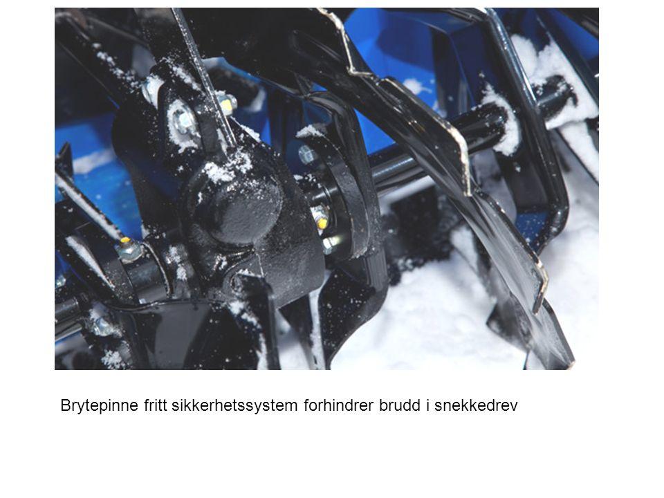 Brytepinne fritt sikkerhetssystem forhindrer brudd i snekkedrev