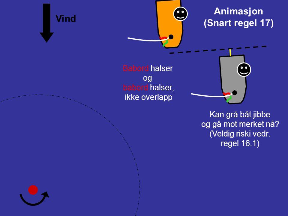 Protest ! 16ENDRE KURS 16.1Når en båt med rett til veien endrer kurs, skal den gi den andre båten plass til å holde av veien. Hva burde grå båt ha gjo