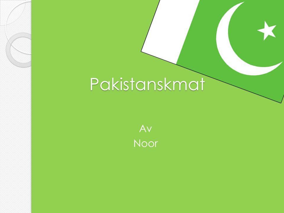 Pakistanskmat Av Noor