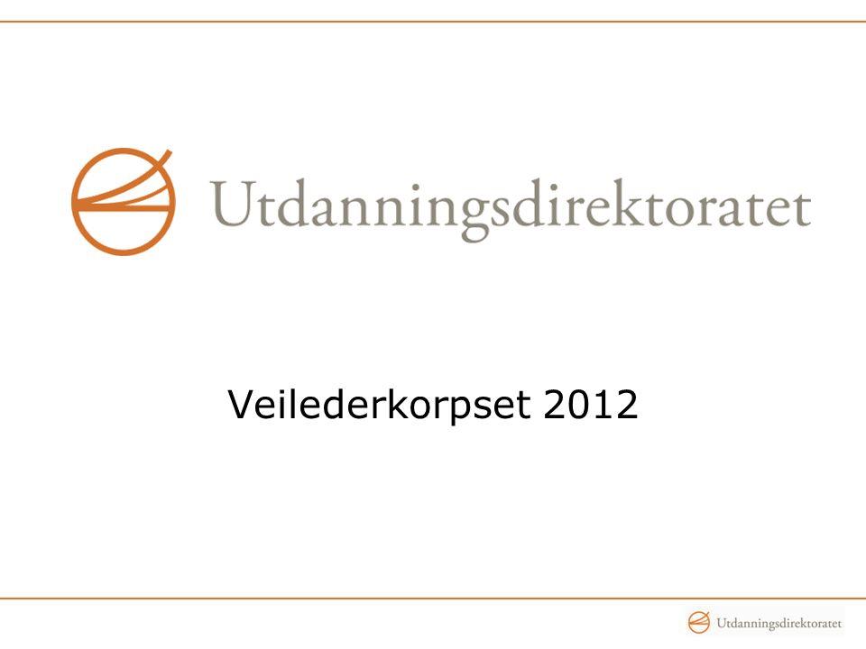 Veilederkorpset 2012