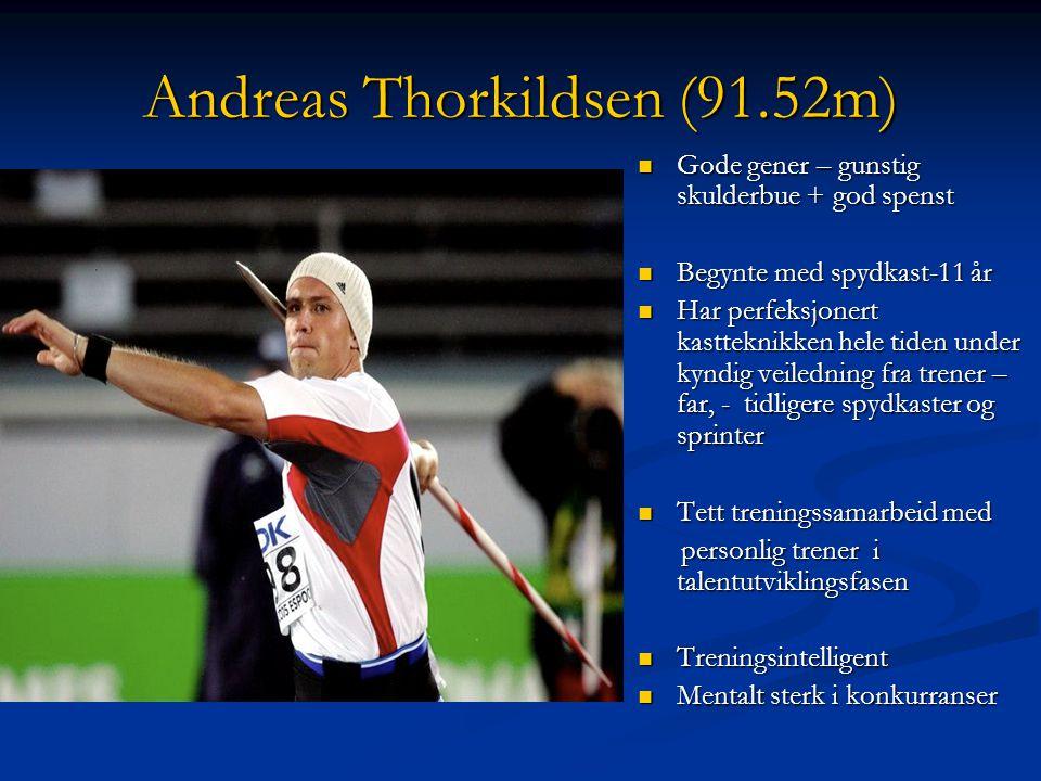 Hva er et talent? (Enoksen, 2002) En utøver som har oppnådd resultater i en eller flere idrettsøvelser som er gode i forhold til alderen. En utøver so