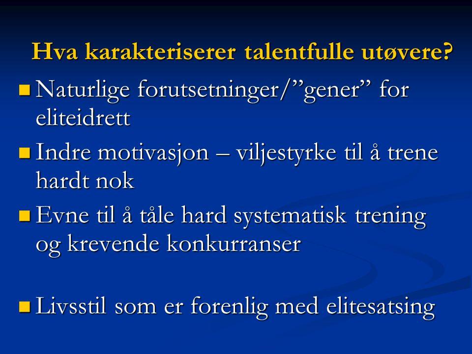 Andreas Thorkildsen (91.52m)  Gode gener – gunstig skulderbue + god spenst  Begynte med spydkast-11 år  Har perfeksjonert kastteknikken hele tiden